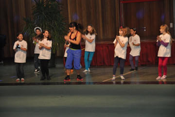 Zumba Kids bei Fit-Event 2012